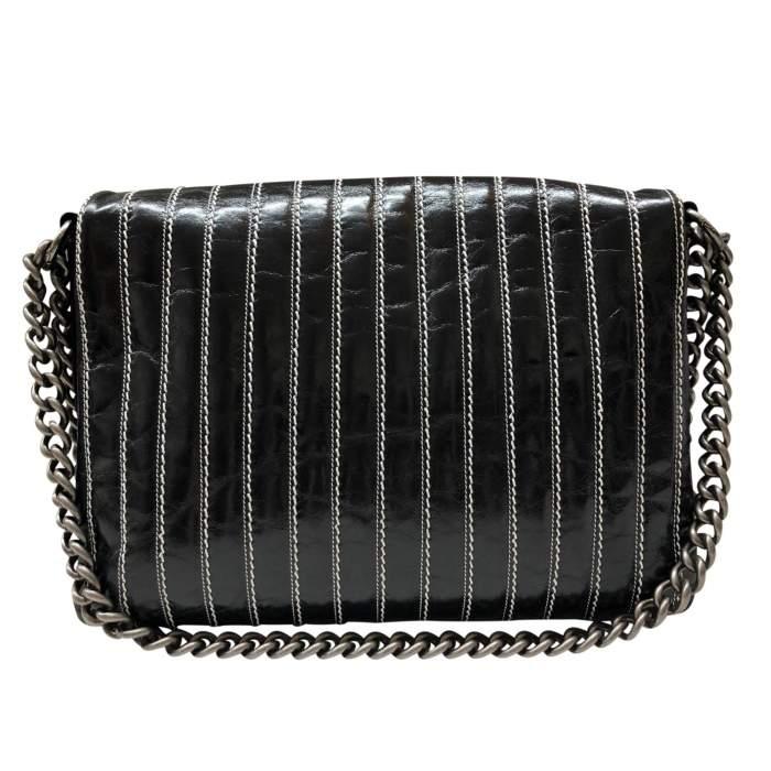 Leather flap Bag-2