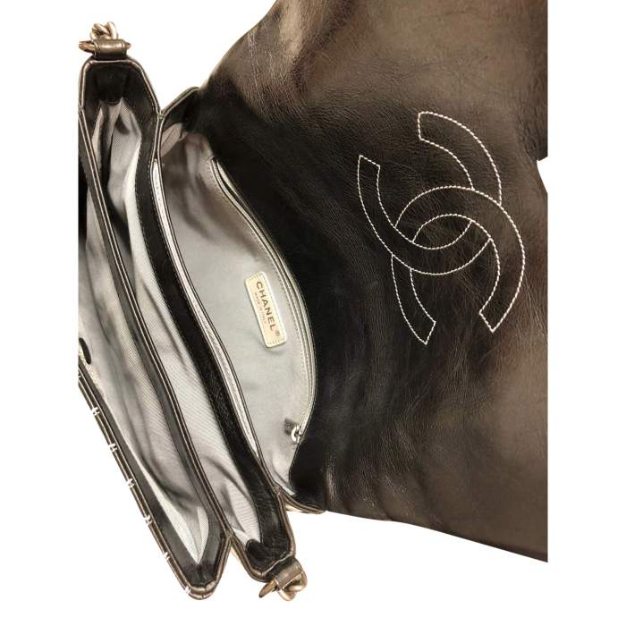 Leather flap Bag-10
