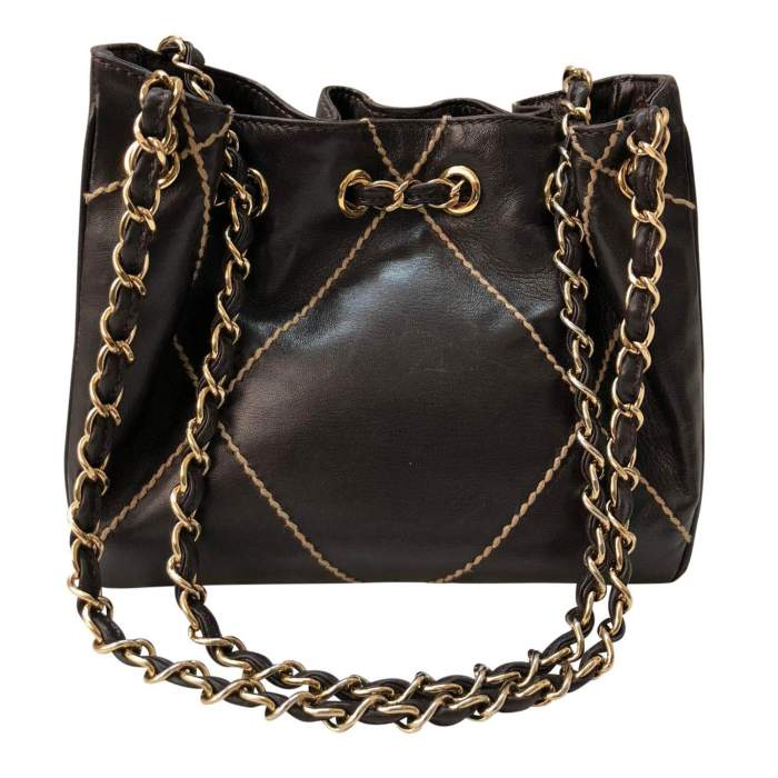 Small brown leather Bag-0