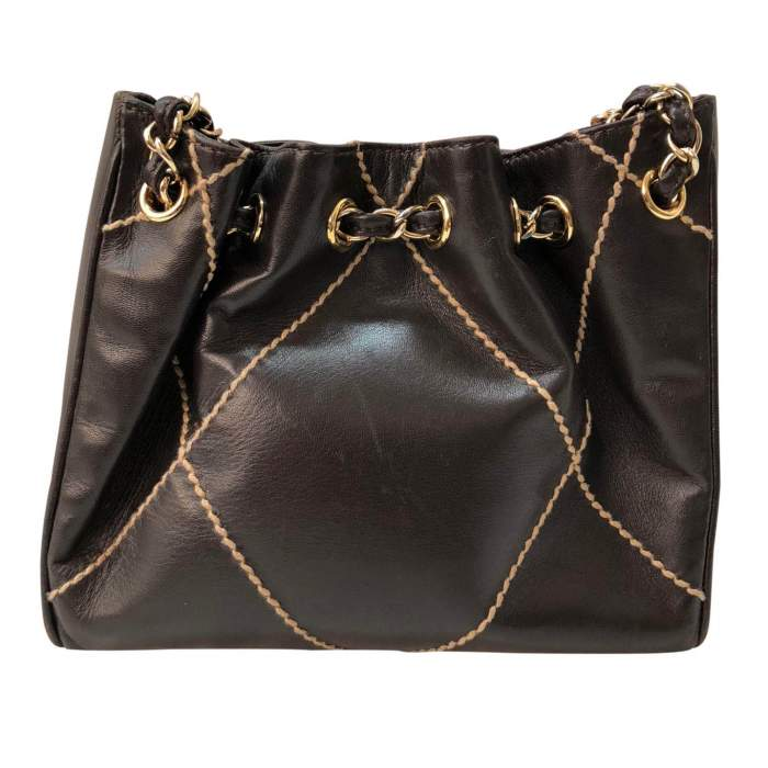 Small brown leather Bag-2
