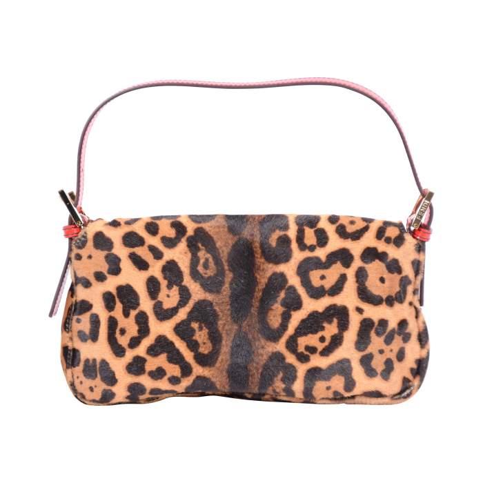 Baguette leopard printed Bag -4