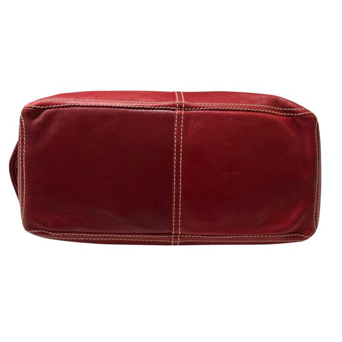 Red leather boogie Bag-6
