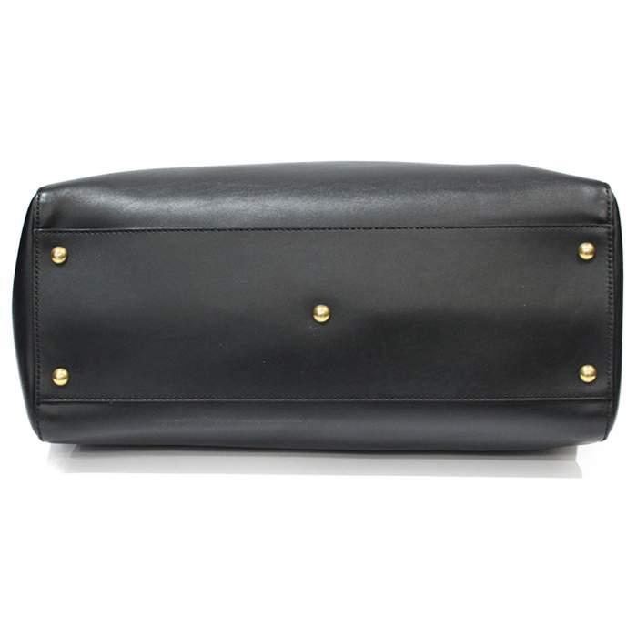Peekaboo black leather Bag-6