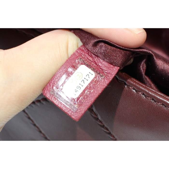 Jumbo leather bordeaux Bag-8