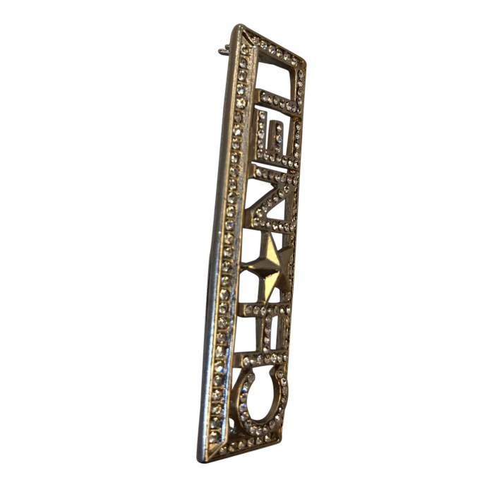 Metal Brooch-4
