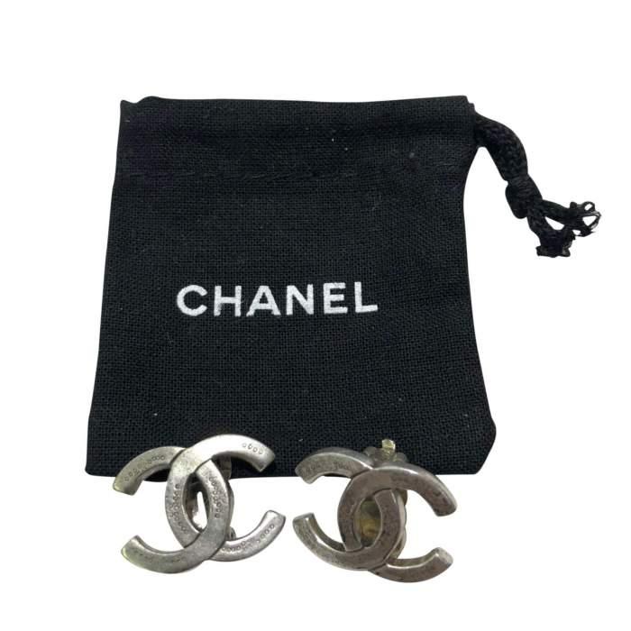 Silver metal Earrings-2