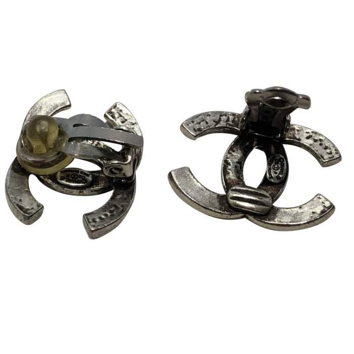 Silver metal Earrings-4
