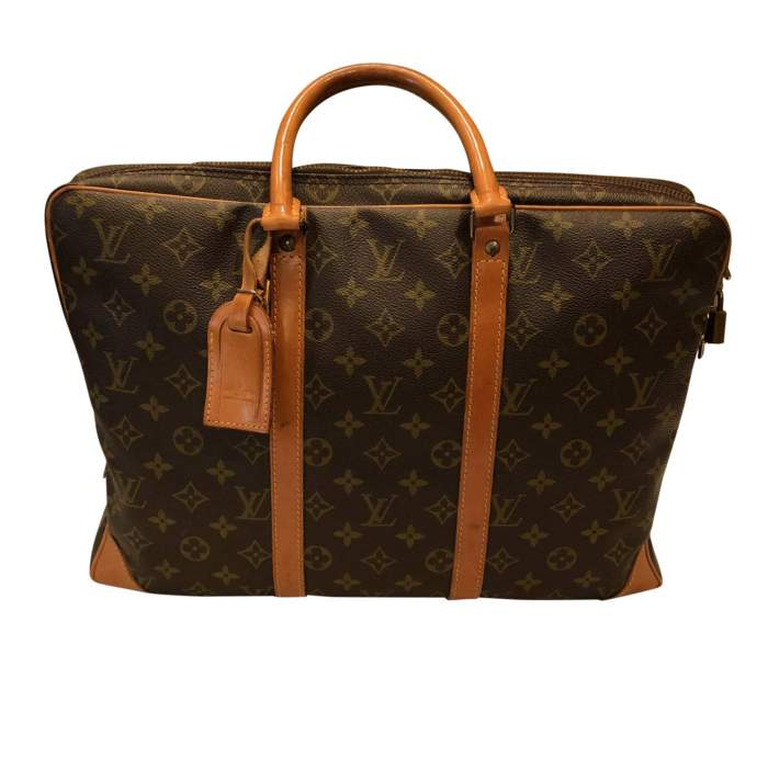 Monogram canvas Briefcase-0