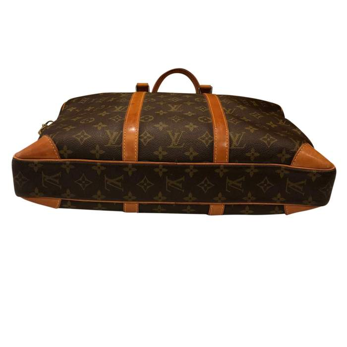 Monogram canvas Briefcase-8