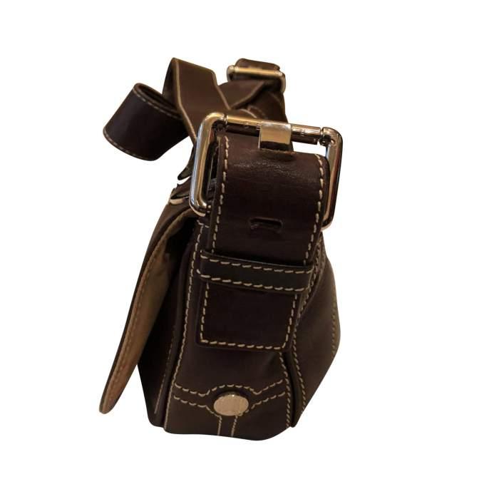 Brown leather Bag-4