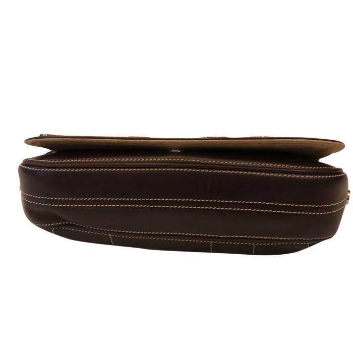 Brown leather Bag-6