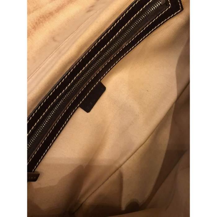 Brown leather Bag-10