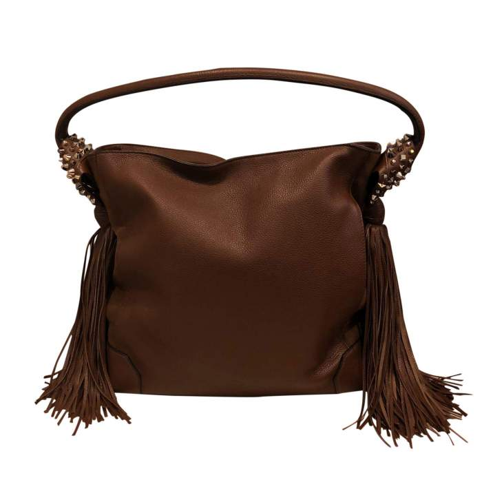 Leather and suede Bag-2