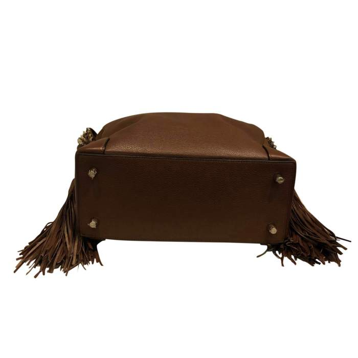 Leather and suede Bag-6