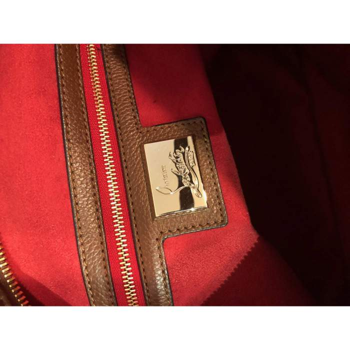 Leather and suede Bag-10