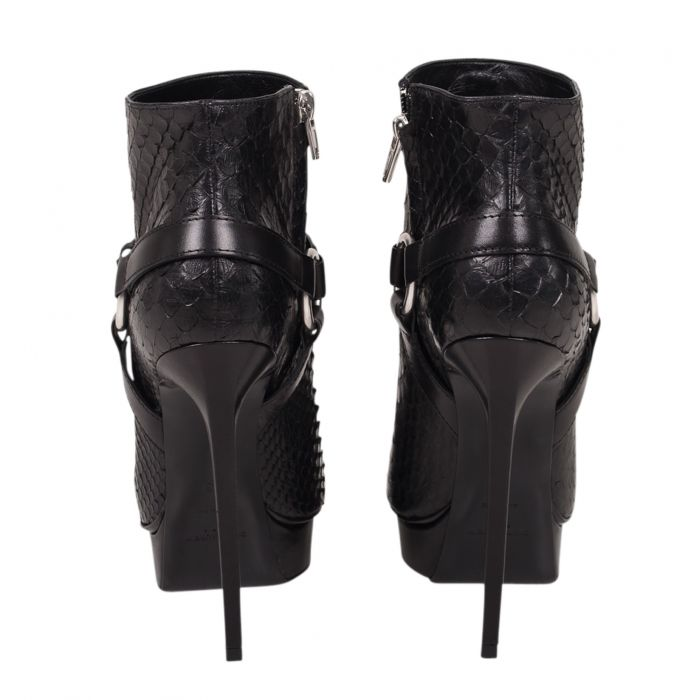 Python ankle Boots -2