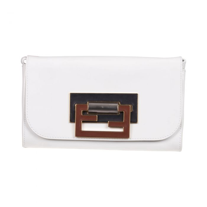 Patent leather clutch -0