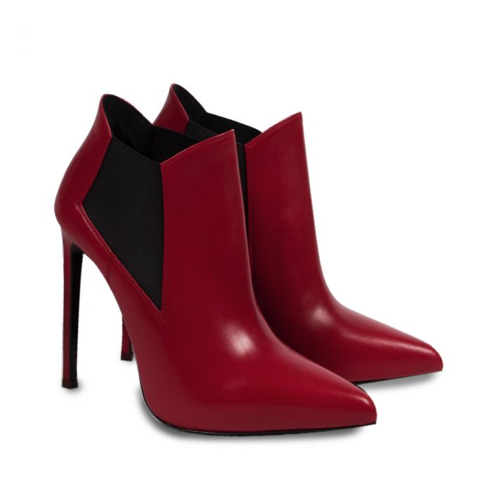 Leather ankle Boot -0
