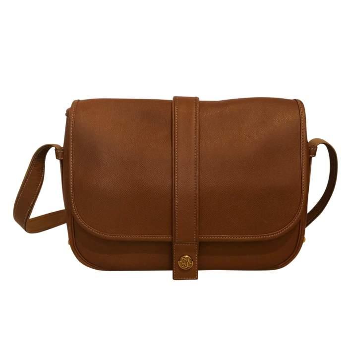 Gold leather man Bag-0