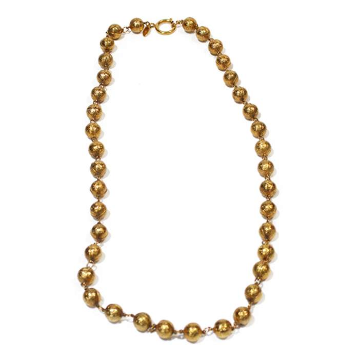 Vintage golden Necklace-0