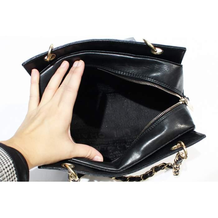 Mini black leather Bag-8