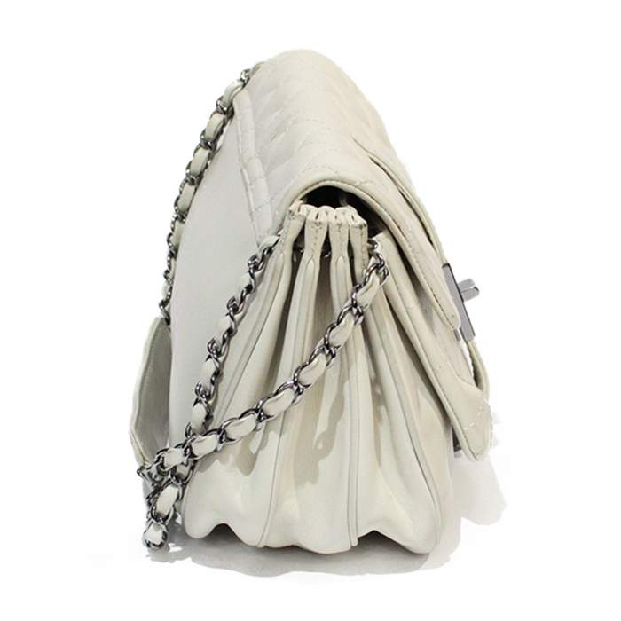 White leather Bag-4