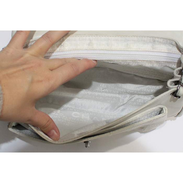 White leather Bag-8