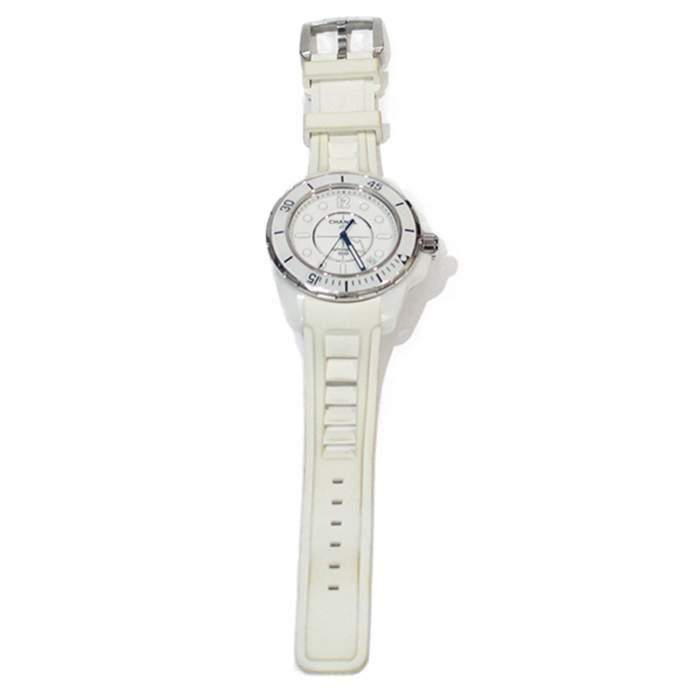 White J12 Watch -2
