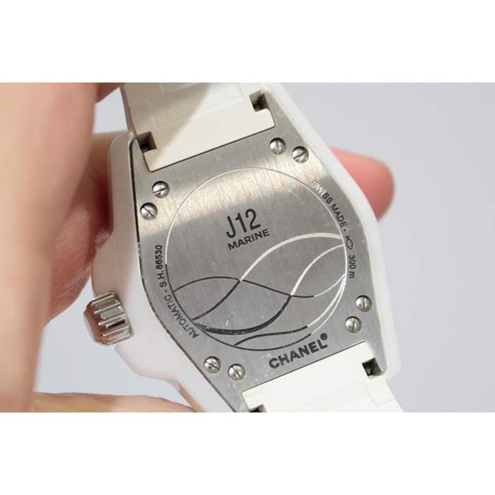 White J12 Watch -4