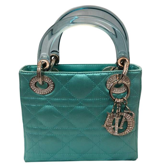 Lady Dior satin mini Bag-0
