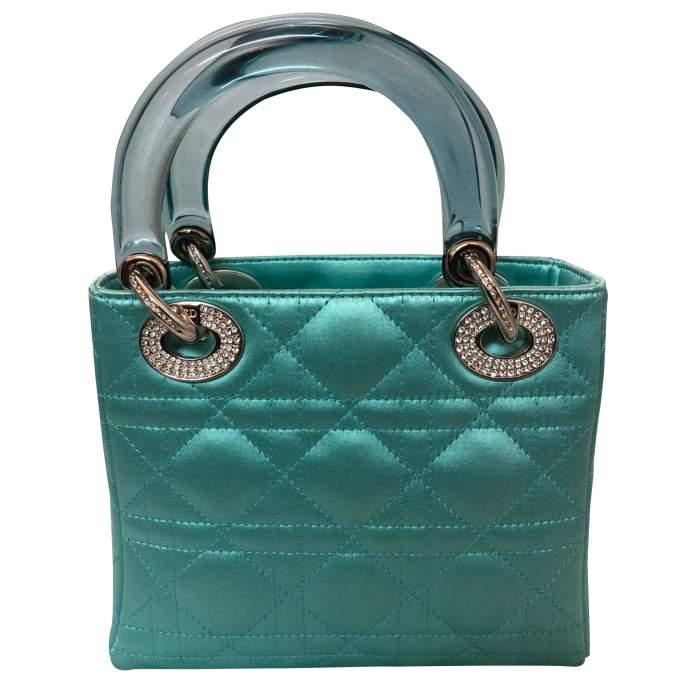 Lady Dior satin mini Bag-2