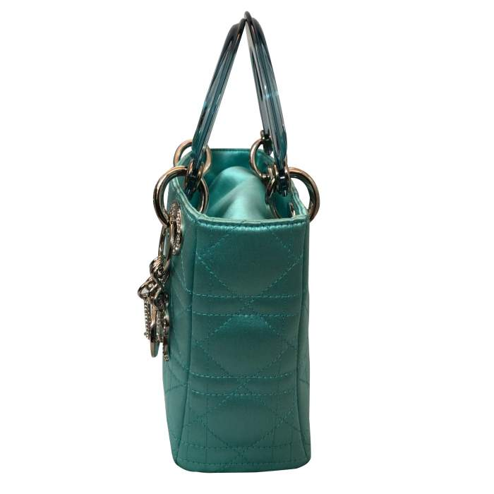 Lady Dior satin mini Bag-4
