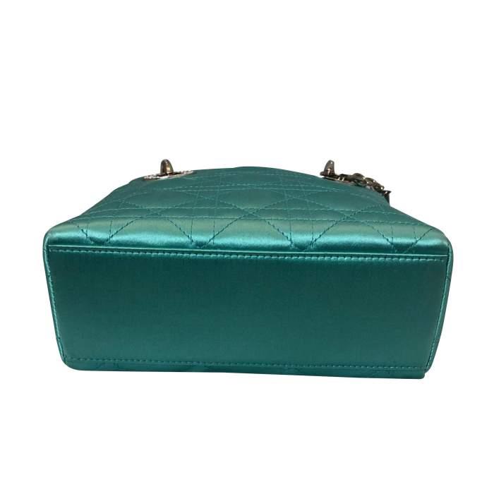 Lady Dior satin mini Bag-6