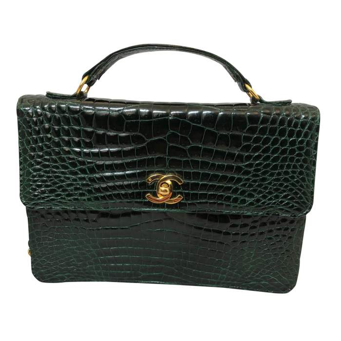 Vintage Crocodile Bag-0