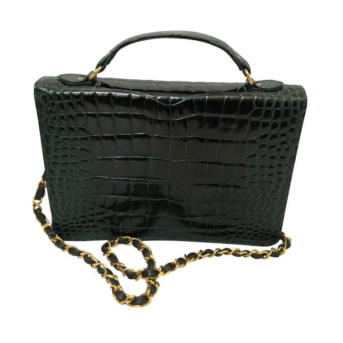 Vintage Crocodile Bag-2