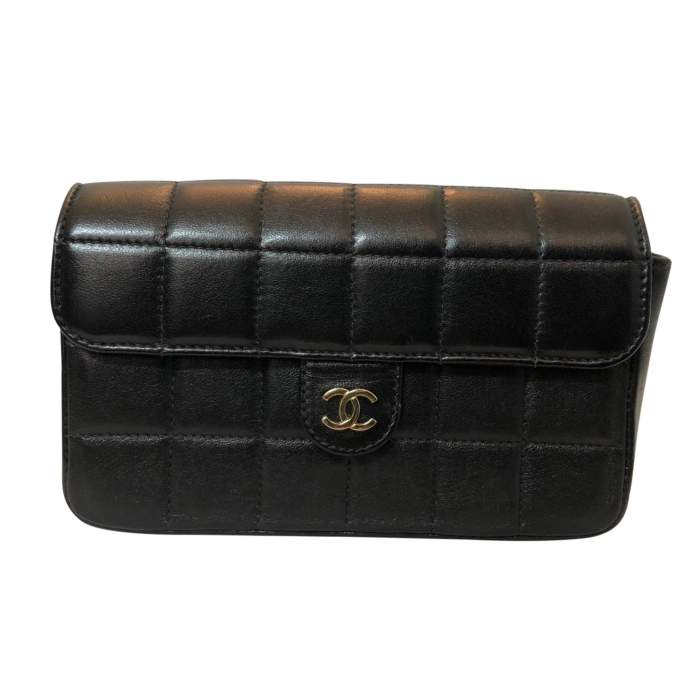 Quilted leather Clutch-0