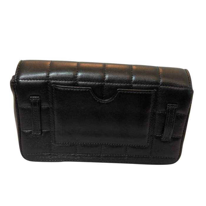 Quilted leather Clutch-2