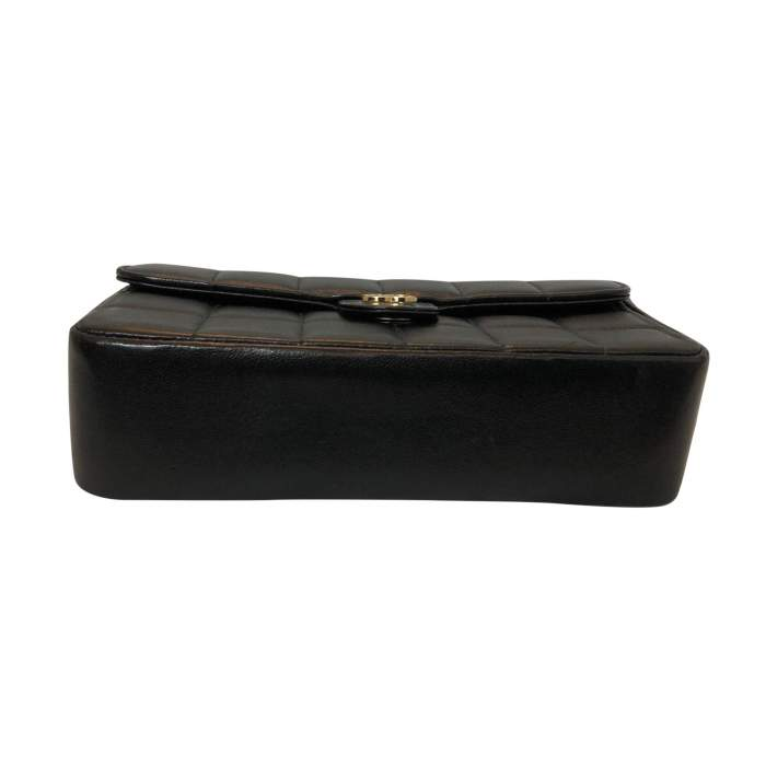 Quilted leather Clutch-6