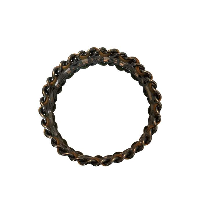 """Make fashion not war"" Bracelet-4"