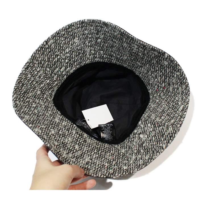 Capeline tweed Hat-6