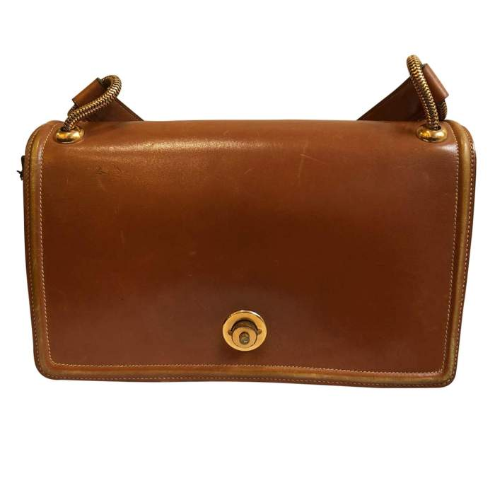 Vintage Princess leather Bag -0