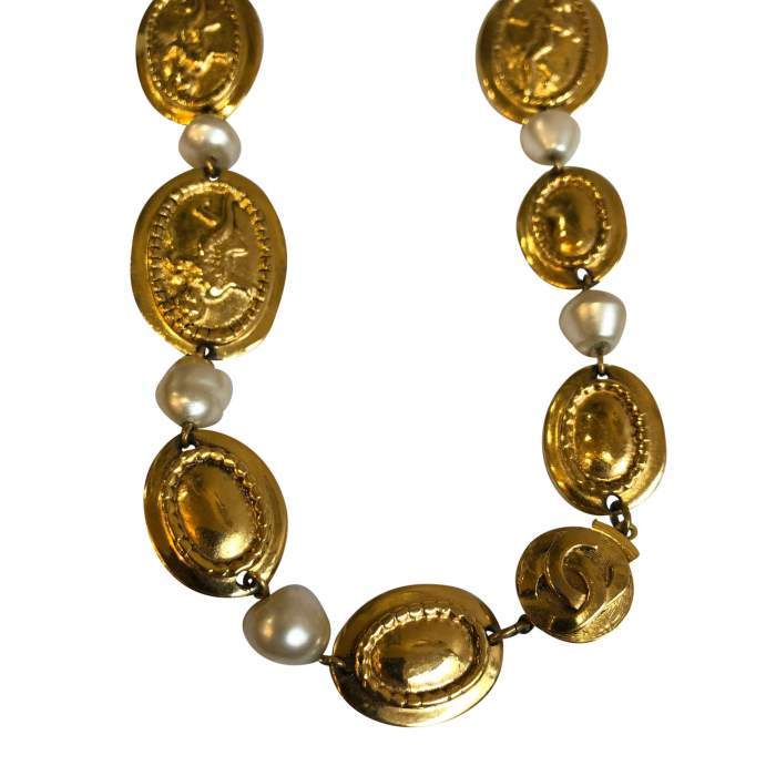 Vintage Oval Necklace-6