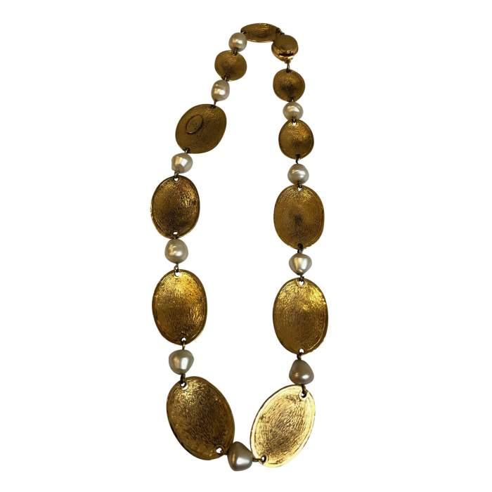 Vintage Oval Necklace-2