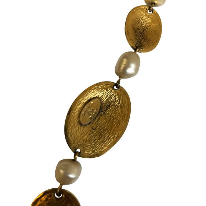 Vintage Oval Necklace-8