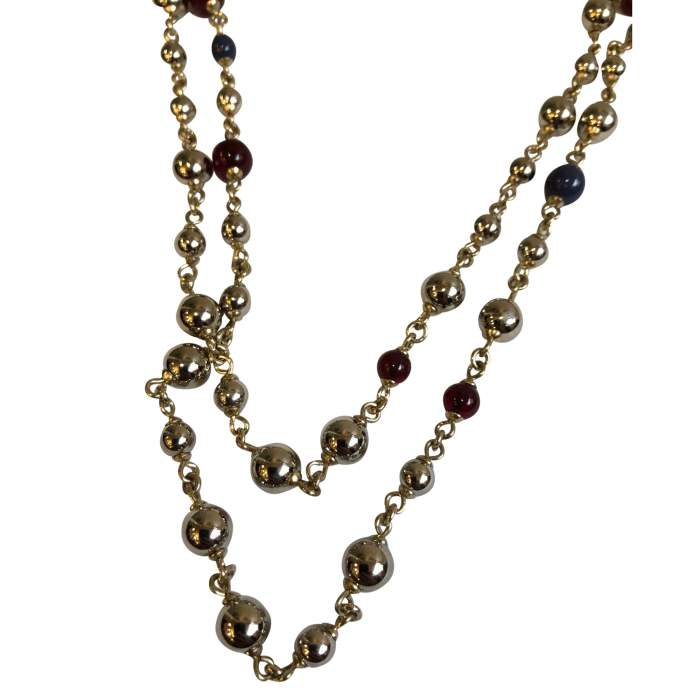 Long pearl Necklace -2