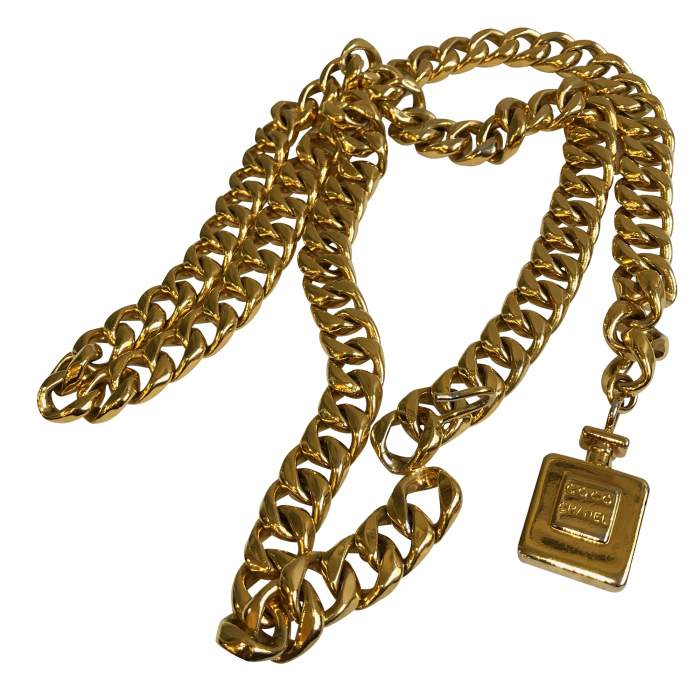 Gold metal Belt-2
