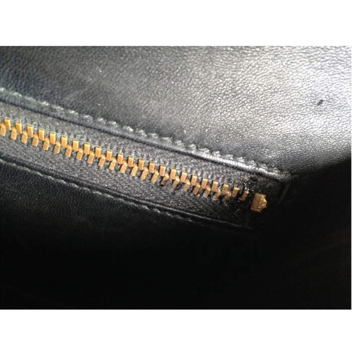 Vintage black alligator Bag -10