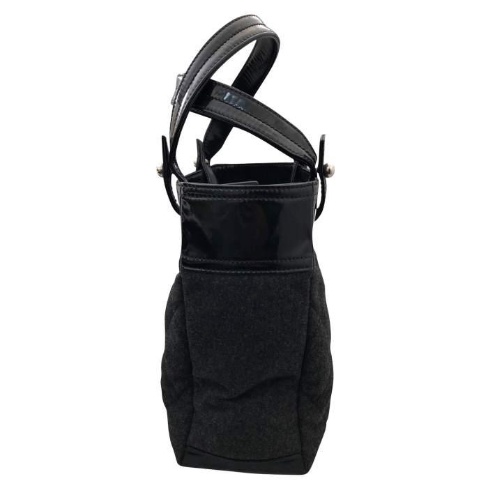 Charcoal gray shopping Bag-6