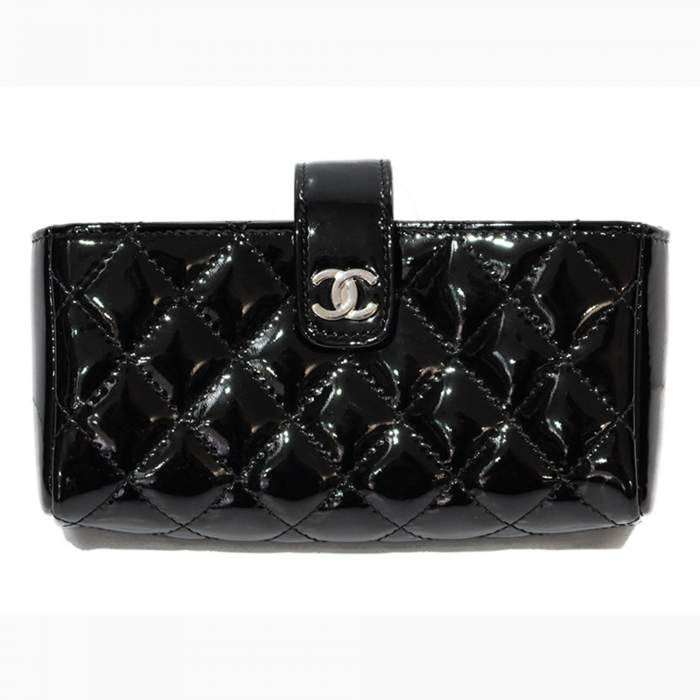 New black leather coin Purse-0