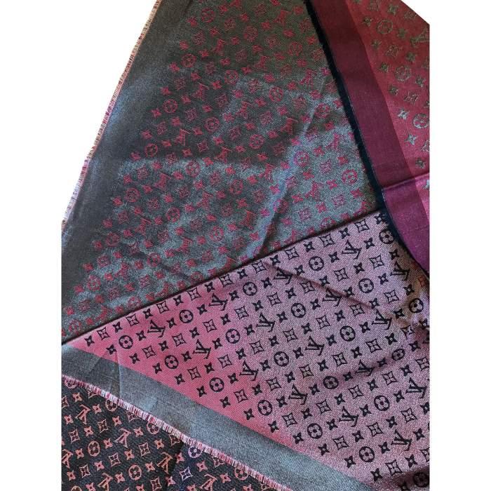 New burgundy Scarf-4